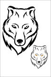 Wolf Head Images libres de droits