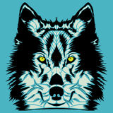 Wolf Head Image stock