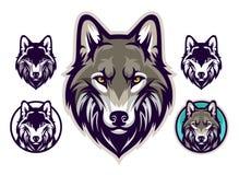 Free Wolf Head Emblem Stock Photos - 167455813