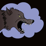 Wolf Head - illustration Photos stock