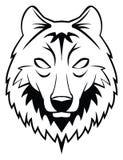 Wolf head. Illustrator desain .eps 10 Royalty Free Stock Photography