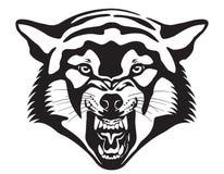 Wolf Head Ilustração Fotos de Stock