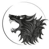 Wolf Head Logo Image libre de droits