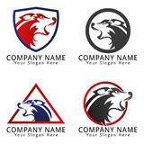 Wolf Head Logo Royalty Free Stock Photos