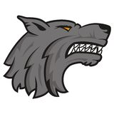 Wolf head logo Stock Photos