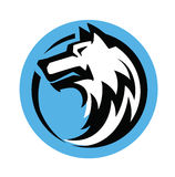 Wolf head vector Stock Photo