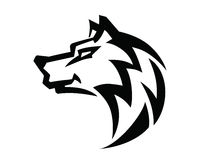 Wolf head vector Royalty Free Stock Photography