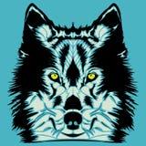 Wolf head Stock Image