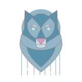 Wolf Logo Image stock