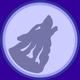 Wolf Logo Fotografia de Stock Royalty Free