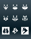 Wolf Logo Stock Photography