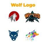 Wolf Logo Template Illustration Libre de Droits