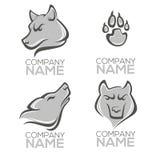 Wolf logo Royalty Free Stock Photo