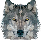 Wolf low poly Royalty Free Stock Photo