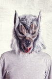 Wolf mask Royalty Free Stock Photography