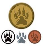 Wolf Paw Logo Royalty Free Stock Image