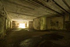 Wolf ` s Lager, Adolf Hitler-` s Bunker, Polen Erste östliche vordere militärische Hauptquartiere, Zweiter Weltkrieg Komplex expl Stockfotos
