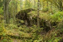 Wolf ` s Lager, Adolf Hitler-` s Bunker, Polen Erste östliche vordere militärische Hauptquartiere, Zweiter Weltkrieg Komplex expl Stockfoto