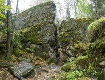 Wolf ` s Lager, Adolf Hitler-` s Bunker, Polen Erste östliche vordere militärische Hauptquartiere, Zweiter Weltkrieg Komplex expl Stockbilder