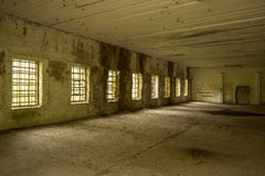 Wolf`s Lair,  Adolf Hitler`s Bunker, Poland. First Eastern Front military headquarters, World War II. Complex blown up, abandoned. Wolf`s Lair,  Adolf Hitler`s Royalty Free Stock Photo
