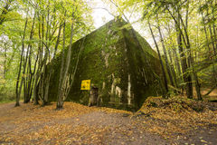 Free Wolf`s Lair,  Adolf Hitler`s Bunker, Poland. First Eastern Front Military Headquarters, World War II. Complex Blown Up, Abandoned Royalty Free Stock Image - 83479276
