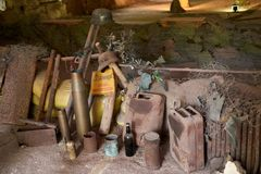 Free Wolf`s Lair-Bunker Museum In Poland. Royalty Free Stock Images - 127598669