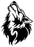 Wolf tattoo Royalty Free Stock Photo