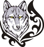 Wolf tattoo Stock Photos