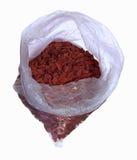 Wolfberry в сумке Стоковые Изображения