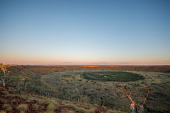 Wolfe Creek Crater Imagem de Stock Royalty Free
