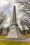 Wolfe and Montcalm Obelisk, Quebec Stock Photo