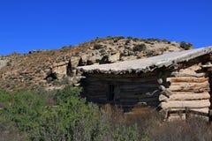 Wolfe Ranch no parque nacional dos arcos em Utá fotografia de stock royalty free