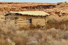 Wolfe-Ranch und Kabine lizenzfreie stockfotos