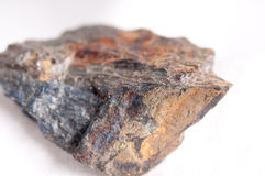 Wolfeite mineral sample Royalty Free Stock Photo