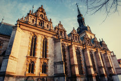 Wolfenb ttel的三位一体教会 德国 少许威尼斯 免版税库存图片