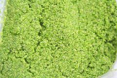 Wolffia globosa or fresh water alga ,It is the smallest plant,local food in Thailand stock photos
