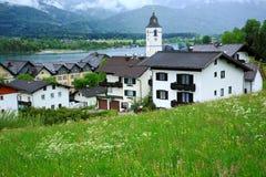 Wolfgang, Áustria fotografia de stock royalty free