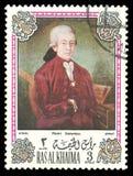 Wolfgang Amadeus Mozart images stock