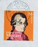 Wolfgang Amadeus Mozart Lizenzfreies Stockfoto