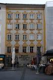 Wolfgang Amadeus Mozart, Salzburg Stock Photography