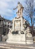 Wolfgang Amadeus Mozart Statue. Wolfgang Amadeus Mozart at Vienna - Austria Royalty Free Stock Images