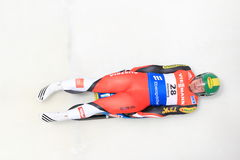 Wolfgang Kindl - luge Royalty Free Stock Images