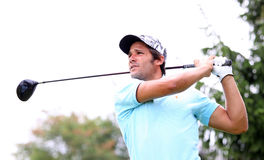 Wolfgang Rieder at the golf Prevens Trpohee 2009e Royalty Free Stock Image