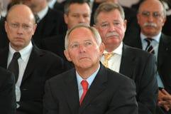 Wolfgang Schaeuble Royalty Free Stock Image