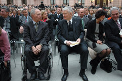 Wolfgang Schaeuble, Otto Schily Royalty Free Stock Image