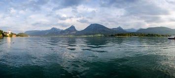 Wolfgangsee湖 免版税图库摄影