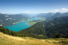 Wolfgangsee in Austria Royalty Free Stock Photography