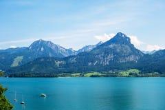 Wolfgangsee, Austria Fotografia Stock