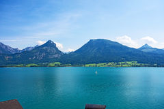 Wolfgangsee, Austria Immagini Stock Libere da Diritti