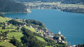 Wolfgangsee, Austria Royalty Free Stock Photo